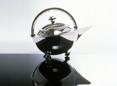Orbit Silver Teapot