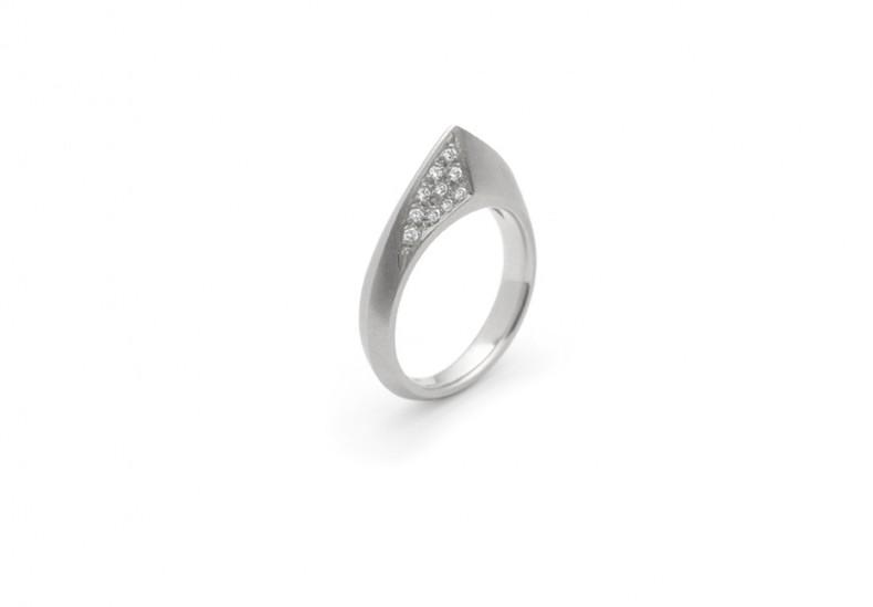 ART Peak Pave′ Diamond Ring