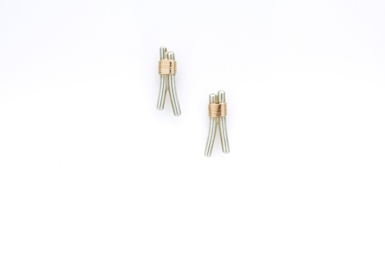 Bound Light Wishbone Earrings