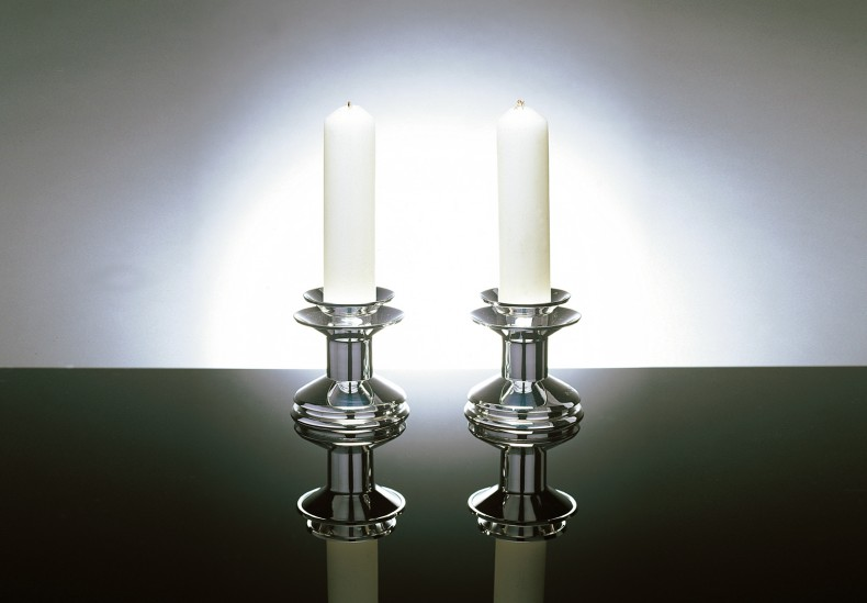 Deco Short Candlesticks