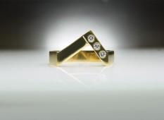 Triple Diamond Ring