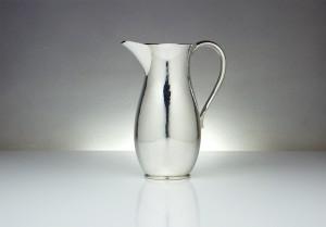 Hammered Silver Jug by Martyn Pugh
