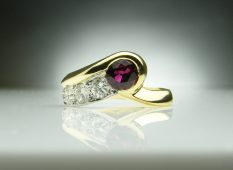 Ruby Shooting Star Ring