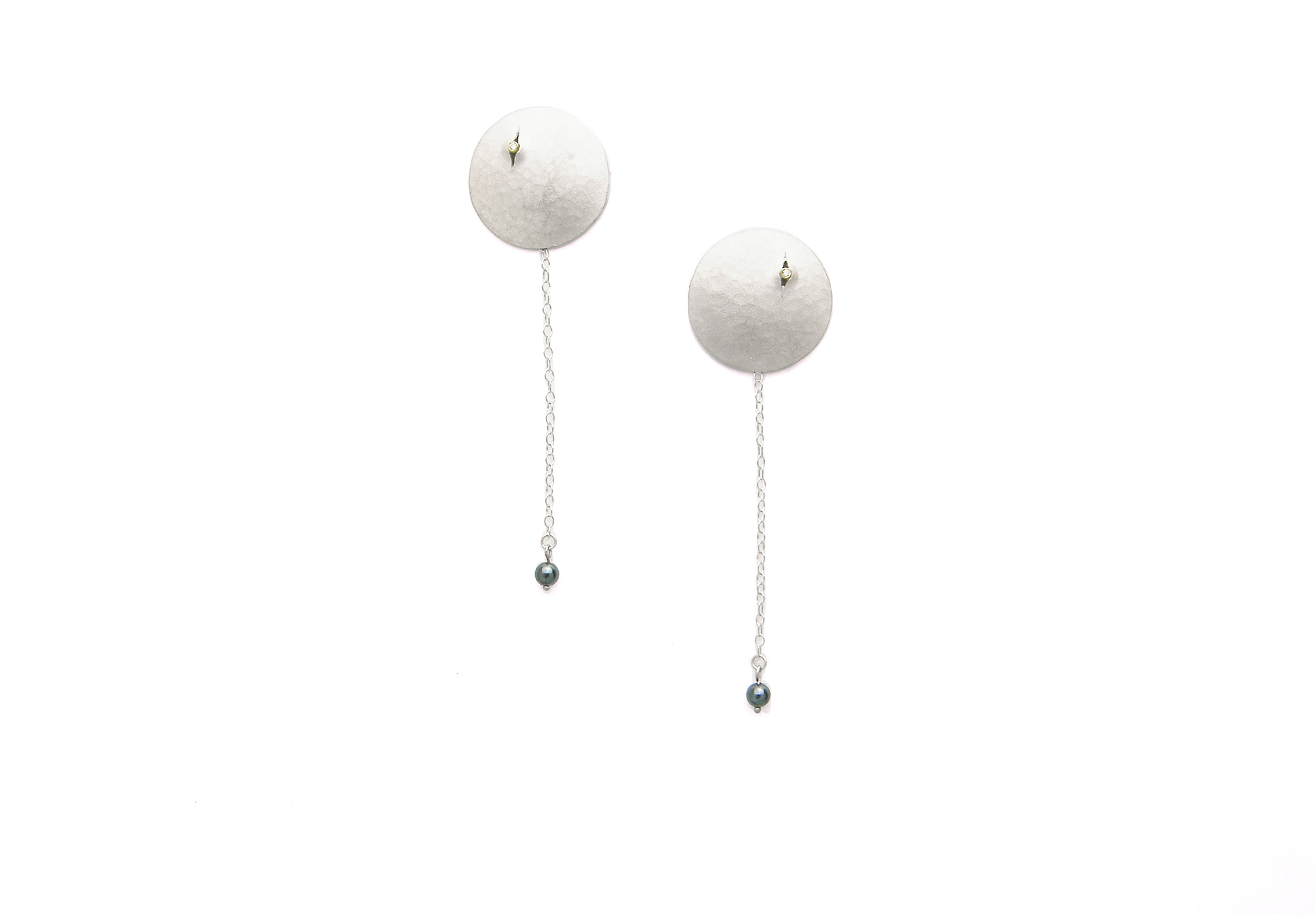 Luna Drop Earrings – large