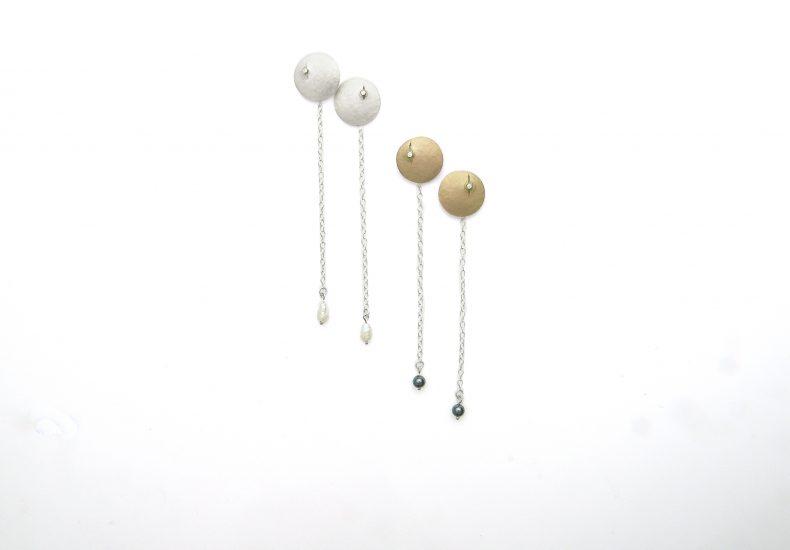 Luna Drop Earrings – small