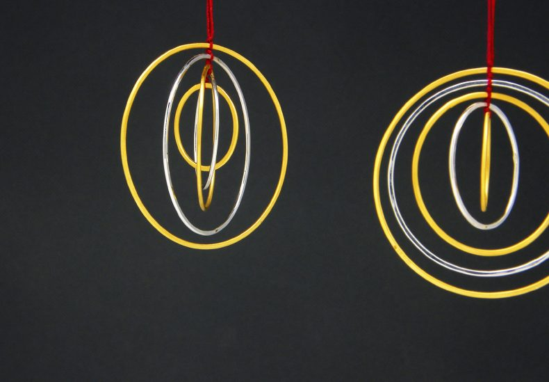 Christmas Tree Decoration – Five Gold Rings